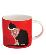 "Enesco Wild About Words Cat Sitting Mug, 3.5"", Multicolor [Kitchen] - $11.88"