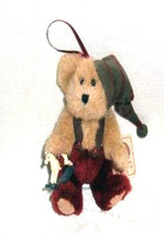 "Boyds Bears ""Ollie B. Elf""  #93373V- 5"" QVC Exclusive Ornament Bear- NWT-2002- - $23.50"