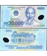 AUTHENTIC POLYMER MONEY 10 PSC VIETNAM 20000 DONG BANKNOTES MONEY = 2000... - $54.45