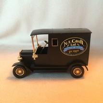 Black Van Coin Bank N.E. Cash General Store Furgoneta Hucha Plastic New ... - $19.34