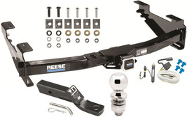 Complete Trailer Hitch Pkg W/ Wiring Kit For 2001 07 Chevy Silverado 2500 Hd 3500 - $241.73