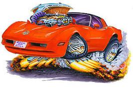 1980-82 Corvette L-82 350 Fire Breather Cartoon... - $19.79