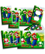 SUPER MARIO LUIGI BROS LIGHT SWITCH OUTLET WALL PLATE COVER GAME KIDS RO... - $8.99+