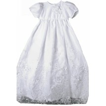 Stunning Baby Girl Unique Angels Floral Lace Boutique Christening Gown/H... - $69.00