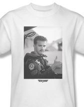 Top gun maverick goose navy pilot for sale online white graphic tee par513 at thumb200