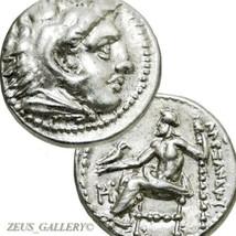 ALEXANDER the Great Rare Lifetime drachm Ancient Greek Silver Coin Herak... - $764.10