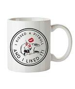 Dog Coffee Mug Pitbull Mugs Birthday Anniversary Gift Cup - $19.75