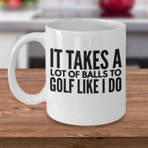 New Mug - Golfer Coffee Mug  Funny Gift For Golfer  Golf Gift Idea - £8.62 GBP+