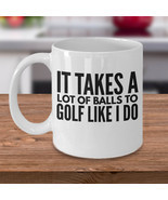 New Mug - Golfer Coffee Mug  Funny Gift For Golfer  Golf Gift Idea - £8.36 GBP+