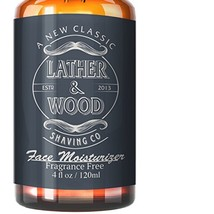 Face Moisturizer for Men - Lather & Wood's Luxurious Sophisticated Mens ... - $19.54