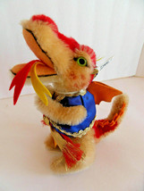 Steiff dragon mohair special edition fire eating dragon  IDs made iGermany 1460 - $123.49