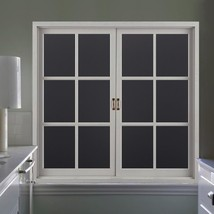 RABBITGOO Blackout Window Film Privacy Window Cling Dark Window Tinting ... - $14.55