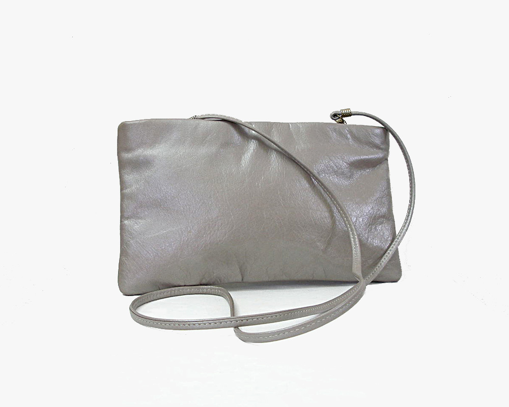 Primary image for Silver Gray Shoulder Bag Clutch