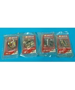 SET OF 4 1997 Nascar 76 Gas Limited Edition Collector's Pins #1-4 Series... - $19.85