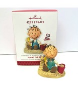Hallmark Keepsake Ornament 2013 Peanuts Pigpen Fun at the Beach 1st in S... - $14.95