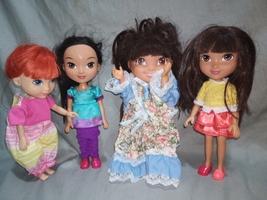 dora and friends dolls - $22.00