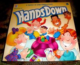Hands Down Game Vintage 1990 Milton Bradley-Complete - $20.00
