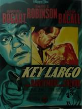 Key Largo - Humphrey Bogart - Movie Poster - Framed Picture 11 x 14 - $32.50