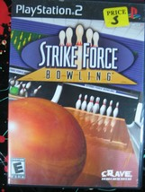 Strike Force Bowling Game PS2 Playstation 2 CIB with manual - $9.00