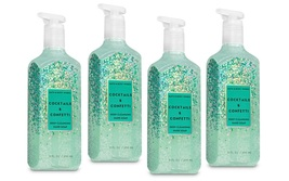 4 Bath & Body Works Cocktails & Confetti Deep Cleansing Hand Soap  - $26.50
