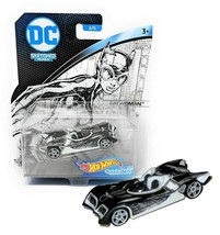 Hot Wheels DC Sketched Series Catwoman Character Cars Mint on Card - $11.88