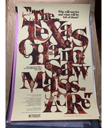 Texas Chainsaw Massacre PROMO SAMPLE 24x36 Print Poster Gabz Grey Matter... - $170.95