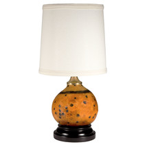 Eco-Friendly Natural Gourd Upcycled Lamp with New Lamp Shade - $79.48