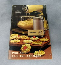 1970 Sunbeam Portable Electric Cookery Mixmaster Mixer Cook Book Recipe ... - $9.95