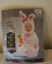New Wittle Wabbit Bunny Rabbit Animal Fancy Dress Halloween  Costume 6-12 Months - $44.55