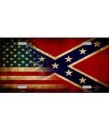 American Confederate Flag Tag Sign License Plate - $18.99