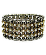 Gerochristo 6019 - Solid 18K Gold, Sterling Silver & Pearls Medieval Br... - $8,050.00