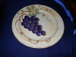 "Tabletops Unlimited Vino Dinner PLate 10 3/4"" - $8.86"