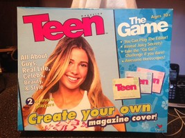 2000 Teen Magazine The Game Create Your Own Magazine Cover Very Rare Com... - $34.99