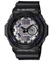 Casio GA150MF-8A Men's G-Shock Silver Metallic Ana-Digi Dial Shock Resis... - $150.00