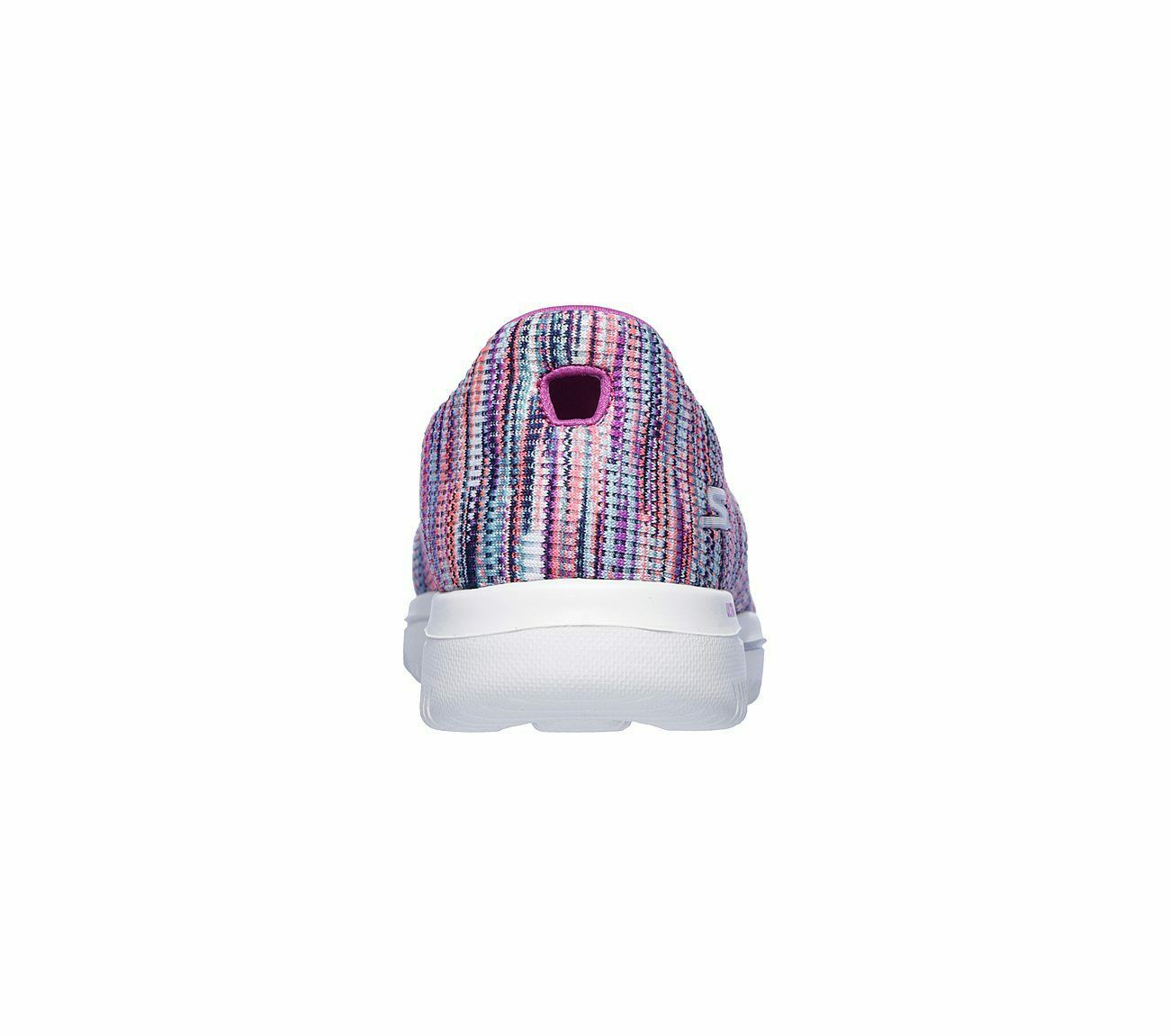 Skechers Shoes Purple Pink Go Walk Evolution Women's Sporty Casual Slip On 15759 image 6