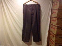 Nautica Mens Brown Dress Pants, Size 40W X 32L