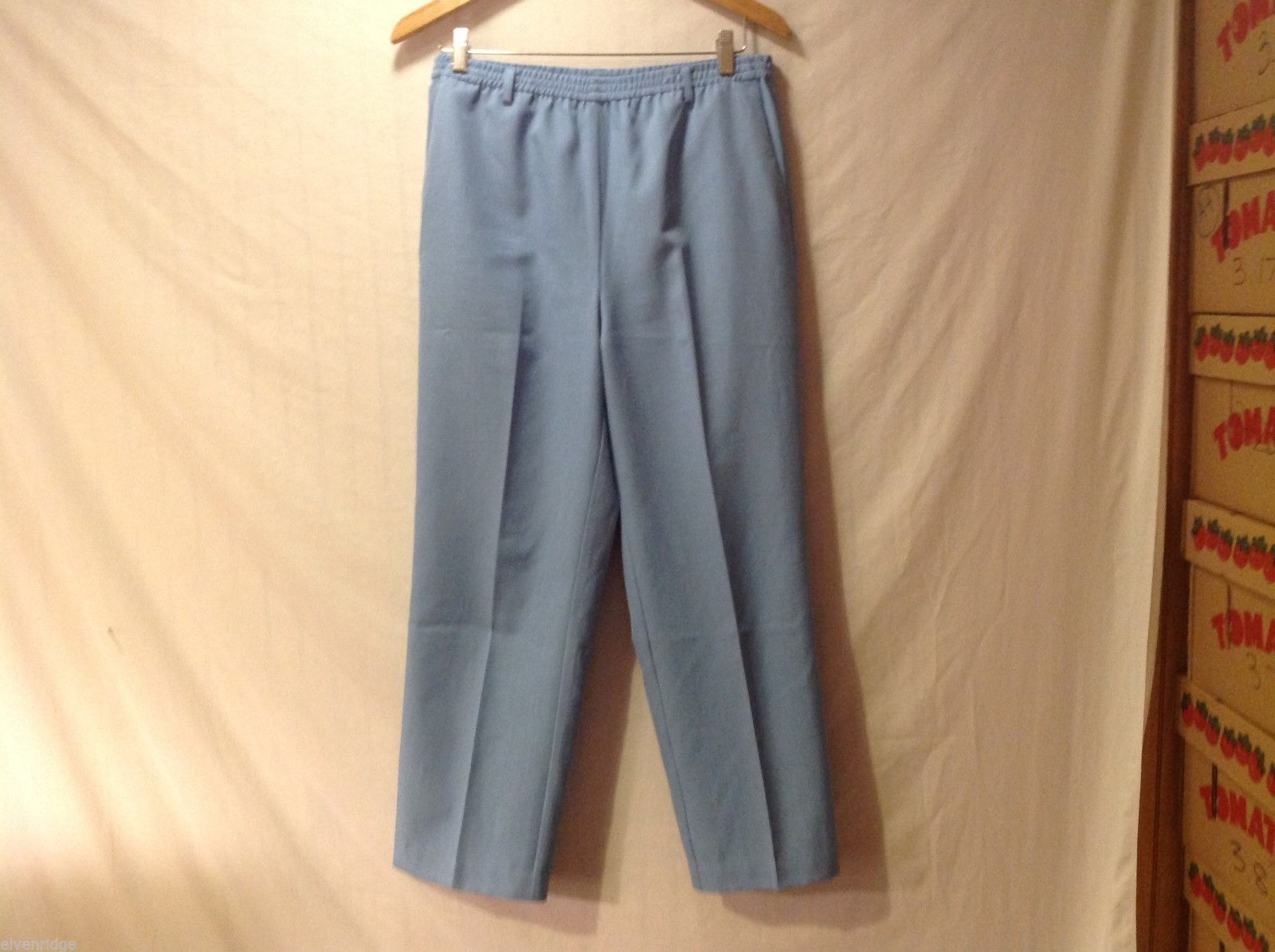 The TOG Shop WomensLight Blue Pants, Size 8