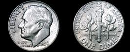1959-D Roosevelt Dime Silver - $6.49
