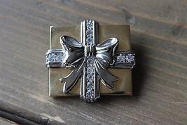 LC Rhinestone Brooch Birthday Christmas Present - $11.88