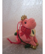 Sylvestri Christmas Pig Ornament  - $5.99
