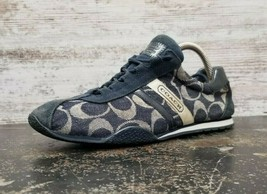 Womens Coach Katelyn Athletic Shoes Sz 8 M Used Faded Fair Cond Read - $19.79