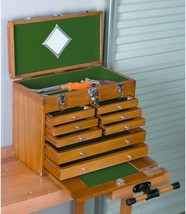 8 Drawer Wood Tool Chest - $105.49