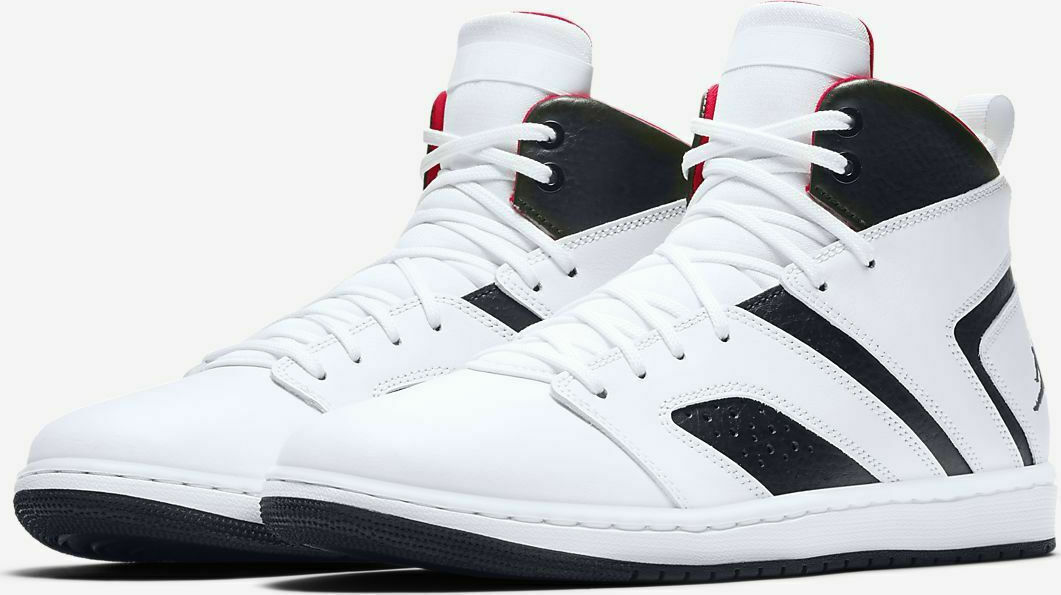 new product 9324b 49413 nike Air Jordan Flight Legend White Gym Red Black mens Sizes 8-15 new AA2526 -112