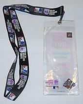 2008 MLB World Series Lanyard and Ticket Holder Rays Phillies - $9.50