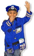 Melissa & Doug Police Officer Role Play Costume Set, Ages 3-6 yrs - $24.70