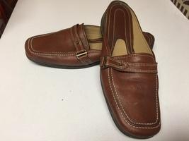 Easy Spirit Leather Slip On Slides Shoes 8 1/2N - $16.99