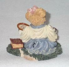 Boyd Bearstone Resin Bears Chrissie Game Set Match Tennis Figurine #227717 6E image 2