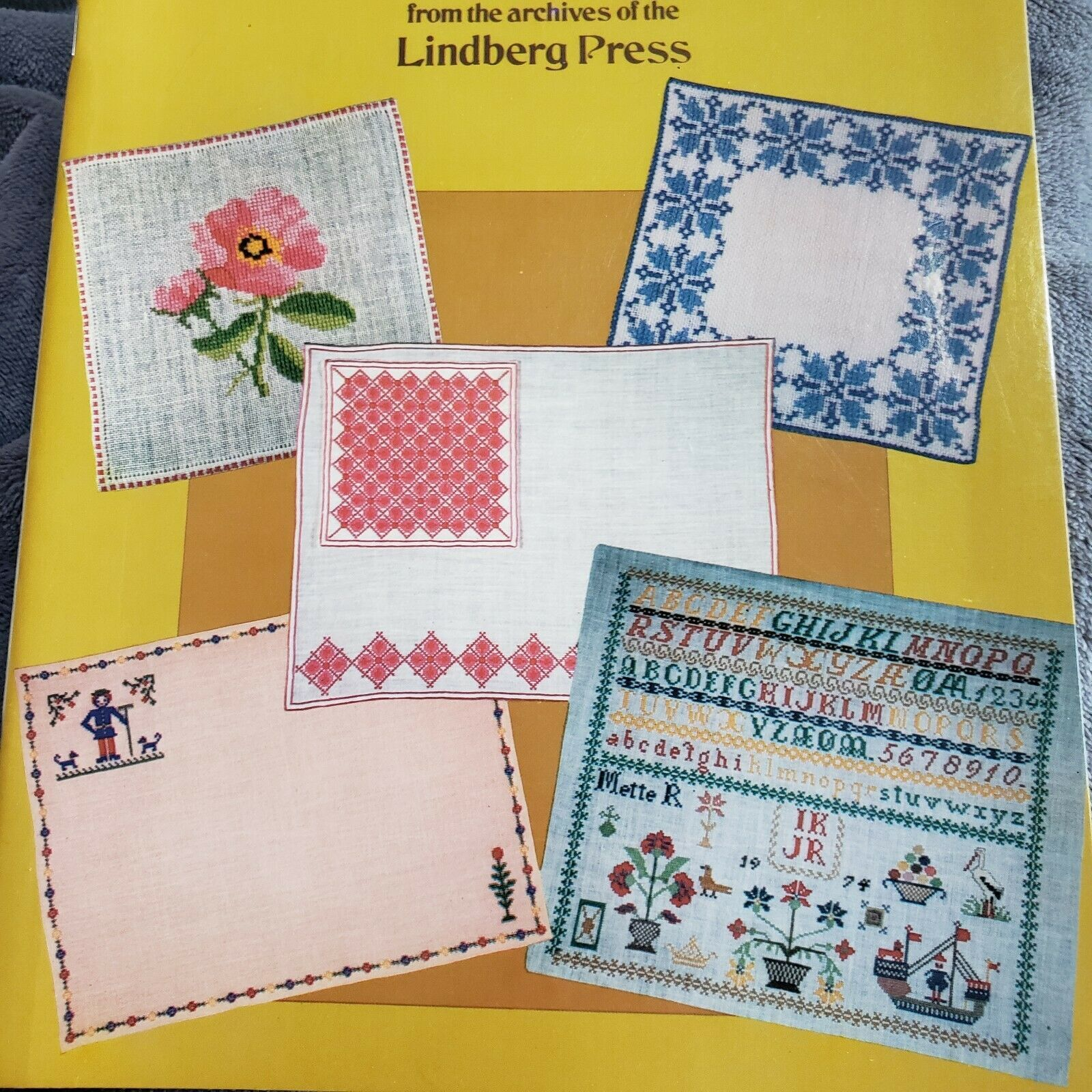 Scandinavian Charted Designs Counted Cross Stitch Pattern Book Dover Needlework
