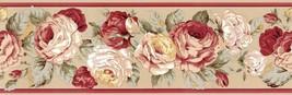 Ralph Lauren Kathleen Floral Tea 2-PC 8.5 Sq Ft Wallpaper Border - $26.00