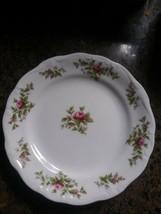 "Set Of 12 Johann Haviland Fine China Moss Rose 6"" Bread & Butter Plates - $27.67"